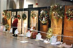 Festival of Trees Wreath Display