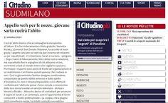 """Il Cittadino di Lodi Giovedì 23/10/2014, articolo sul portale online della rivista """"Il Cittadino di Lodi"""" all'interno della rubrica """"Sud Milano"""""""