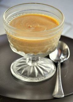 Classic Butterscotch Pudding - Mom used to make this for me when I was little.  She used serving dishes similar to the one in the picture and served it warm.  Mmm. . .