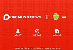 All-new Breaking News app for Android We're excited to announce a brand new version of our free Android app that lets you decide what's breaking news to you. Android users join iOS users in being able. Free Android, Android Apps, Breaking News App, Ios App, Top News, Hunting, Trunks, Events, Places