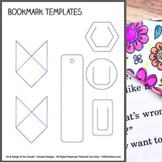 3183 best templates images in 2018 book markers marque page