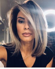 Medium Hair Styles, Short Hair Styles, Medium Hair With Layers, Haircuts For Long Hair, Cool Hairstyles, Blonde Hair With Highlights, Hair Color And Cut, Brunette Hair, Great Hair