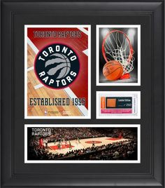 b8c9680ca3a Toronto Raptors Team Logo Framed 15