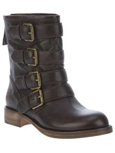 MARC BY MARC JACOBS BUCKLE PANEL BOOT