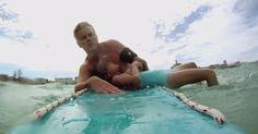 Niemand Had Door Dat Dit Meisje Aan Het Verdrinken Was, Tot Deze Dappere Man In Actie Kwam