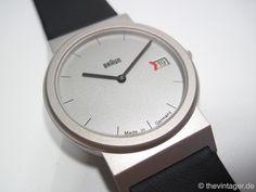 Braun AW50. Design by Dietrich Lubs (under Dieter Rams). Year: 1991