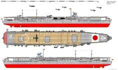 Soryu-class Aircraft Carrier (1942) by ijnfleetadmiral.deviantart.com on @deviantART