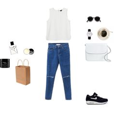 """down for a stroll"" by gleaniaw on Polyvore"