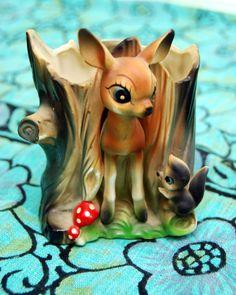 Google Image Result for http://californiapixie.files.wordpress.com/2012/10/vintage-bambi-red-mushroom-vase1.jpg%3Fw%3D736%26h%3D922