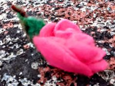 Brooch for dress or jacket or pin hair. Unique flowers felted for celebreison day. Cheap Flowers, Unique Flowers, Gift Flowers, Hair Pins, Confetti, Gifts For Women, Felt, Rose, Cherry