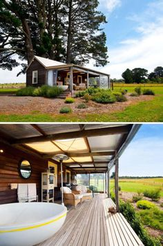 This + a huge garden + a view of mountains and/or sea. Dream.