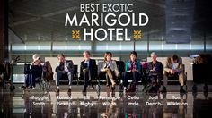The Best Exotic Marigold Hotel (2012)  A great movie that will take you to India for 2 hours .....