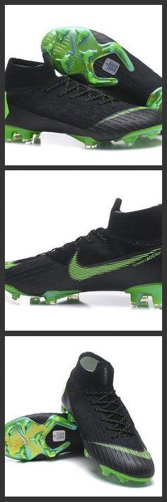 san francisco 7fbda 05368 Nuovo Scarpe da Calcio Nike Mercurial Superfly VI 360 Elite FG Nero Verde