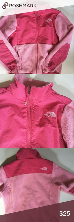 The North face Pink girl jacket 14/16 can also fit women  small 17.5 inches from armpit to armpit 21 inches from shoulder to bottom of jacket The North Face Jackets & Coats