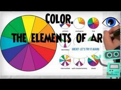 How on earth am I going to get these kids to learn the elements of art! It& as easy and fun as a song and dance! YAH-- Created using PowToon -- Free s. Middle School Art, Art School, School Days, High School, Elements Of Art Color, Elements And Principles, Art Curriculum, Art Lessons Elementary, Art And Technology