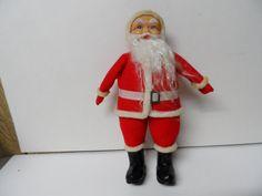 1960s Japan Santa Claus Christmas Doll Figure Z