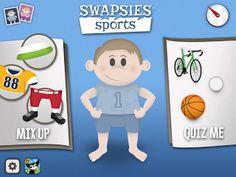 Speech Time Fun: Swapsies Sports!