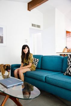 Monique Lavie's Minimal and Modern House Tour