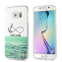 S VIEW Cover Case for SAMSUNG Galaxy S6 Edge Plus (Silver) S-VIEW