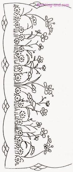 Tutoriales y DIYs: Patrón bordado flores