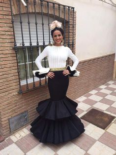 African Fashion Dresses, African Dress, Spanish Dress, Valentines Day Weddings, Black White Red, Glamour, Couture, Formal, My Style