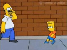 -Buenos días joven -Buenos días señor  - ¡Jajajaja, baboso! Simpsons Quotes, Simpsons Cartoon, Cartoon Icons, Best Cartoons Ever, Cool Cartoons, Simpsons Springfield, Playlists, Los Simsons, Good Day Sir