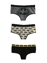 Batman panties.