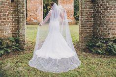 Southern Bridal Session    Old Sheldon Church Ruins    Savannah GA Wedding Photographer    www.brookeashleyphoto.com