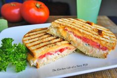 The Kitchen Life of a Navy Wife: Chicken Salad Panini