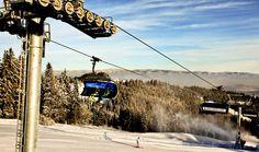 Wyciąg. Kotelnica Białczańska. Narty, Podhale, zima. Ski lift, sky, skis, winter