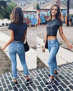 The Levi& Jeans Palace — jeanslovers: Rachel Cook What a. The Levi& Jeans Palace — jeanslovers: Rachel Cook What a… Mode Outfits, Jean Outfits, Casual Outfits, Fashion Outfits, Womens Fashion, Fashion Fashion, Jeans Fashion, Fashion Ideas, Levis Jeans