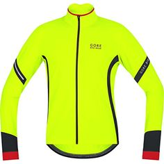 GORE BIKE WEAR Mens Thermo cycling jersey long sleeves POWER 20 Thermal Size XL Neon YellowBlack KMPOWE -- For more information, visit image link. (This is an affiliate link) #MenShirts