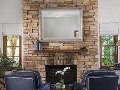 Bungan Headland Residence by Stritt Design and Construction Sandstone Fireplace, Southern California Style, Rainy Night, Lush Garden, Spanish Colonial, Cabana, The Hamptons, Cosy, Beach House