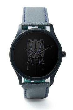 Wrist Watches India |Black Panther Illustration Premium Men Wrist WatchOnline…