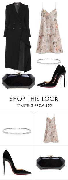 """""""Untitled #1989"""" by dani-gracik ❤ liked on Polyvore featuring Suzanne Kalan, Alexander McQueen, Zimmermann, Christian Louboutin and Chanel"""