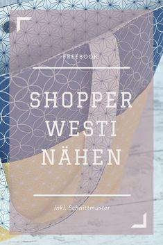Kostenloses Schnittmuster für eine Handtasche und Shopper - Freebook!