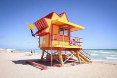 Miami Beach Unveils New Lifeguard Towers