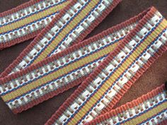 Guitar Strap Woven by Hand in a Unique by WeaverGuitarStraps, $65.00