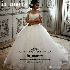 Princess Ball Gown Overskirts Wedding Dresses 2017 Off Shoulder White Vintage Lace Ruffles Tulle Skirt Victorian Islamic Arabic Bridal Gowns 2017 Wedding Dresses Princess Wedding Dresses Ball Gown Wedding Dresses Online with $230.86/Piece on In_marry's Store | DHgate.com