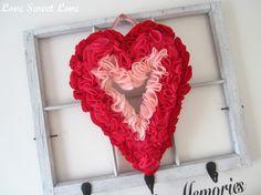 Love Sweet Love: 'Heart-FELT' Wreath