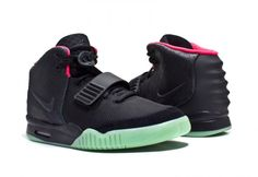 yeezy 2 black solar red