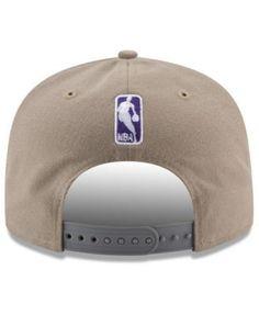New Era Sacramento Kings Tan Top 9FIFTY Snapback Cap - Tan/Beige Adjustable