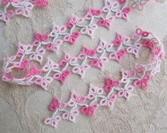 Vintage Hand Tatted Lace