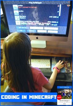 I can't believe how fast my daughter is learning to program with this course! The BEST Java Programming Class Online for Kids from Youth Digital Online Math Courses, Learn Math Online, Coding Class, Fun Math Games, Coding For Kids, Programming For Kids, Online Programs, Library Programs, Math Lessons