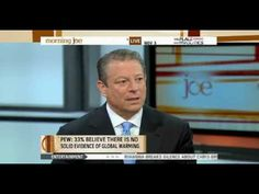 """Al Gore on Global Warming """" OUR Choice """" Morning Joe Part1"""
