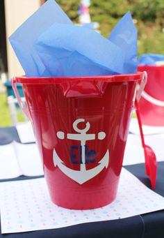 Evite Nautical Party by Crowning Details