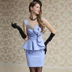 kk-Dresses-S39BL-blue NZ$218.00 on Nzsale.co.nz