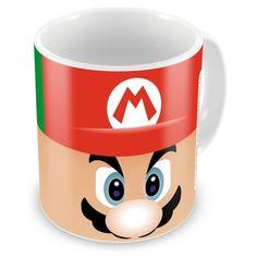Caneca Porcelana Mario e Luigi Super Mário Bros Duas Face - ArtePress | Brindes Personalizados, Canecas, Copos, Xícaras