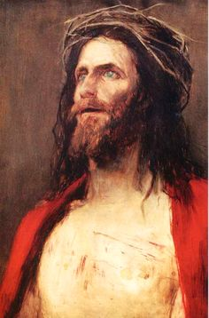 Mihály Munkácsy, Ecce Homo, 1896 Catholic Art, Religious Art, Christian Paintings, Images Of Christ, Victor Vasarely, Jesus Face, King Of Kings, Beauty Art, Pictures To Draw