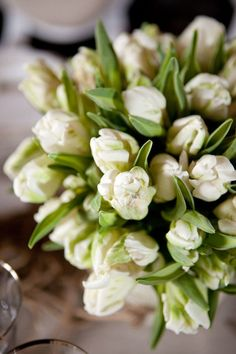 Inspired by these gorgeous flowers for Saint Patrick's Day.